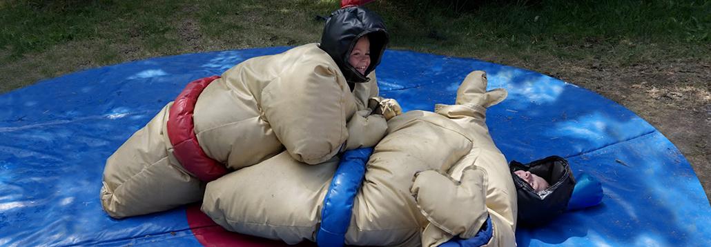 combat de sumo en mousse