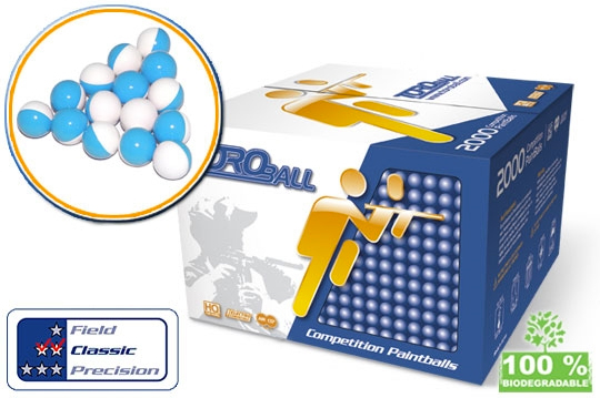 Billes TOROBALL Classic 0.68 - TOROPARK - Terrain Paintball Normandie 76 - Loisirs