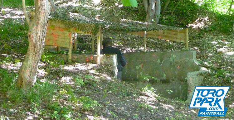 scenario foret milsim bunker obstacles bunker - TOROPARK - Terrain Paintball Normandie Rouen 76 - Loisirs