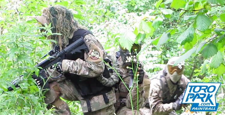 scenario foret milsim stratégie camouflage obstacles bunker - TOROPARK - Terrain Paintball Normandie Rouen 76 - Loisirs