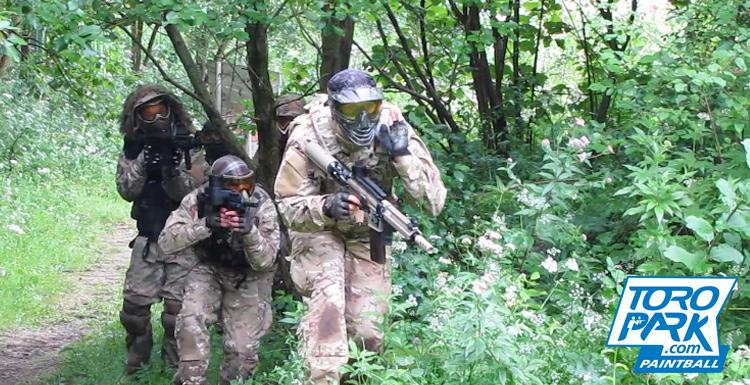 scenario foret milsim stratégie manoeuvre obstacles bunker - TOROPARK - Terrain Paintball Normandie Rouen 76 - Loisirs