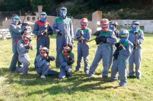 mairie - paintball