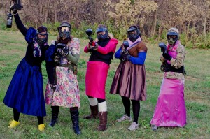 Paintball - Enterrement de vie de jeune fille